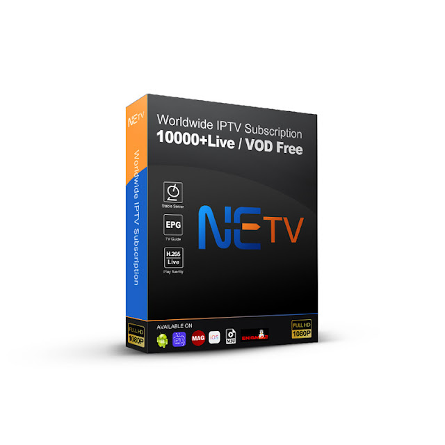 NETV IPTV Channels Subscription