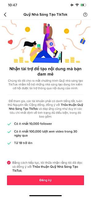 Điều kiện để bật kiếm tiền kênh TikTok