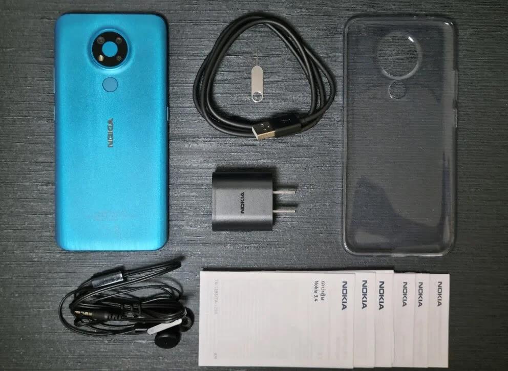 Nokia 3.4 Retail Package