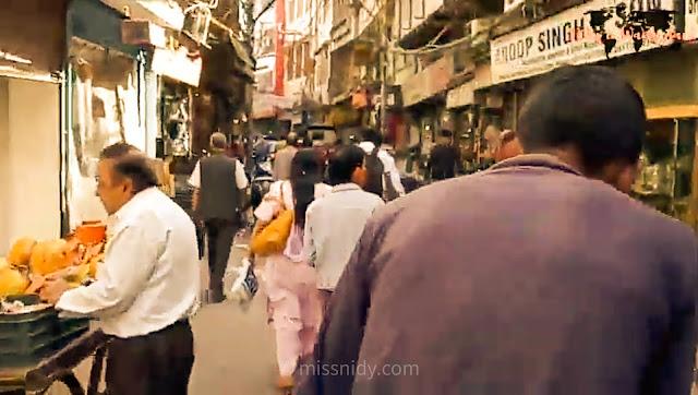 pengalaman naik rickshaw keliling chandni chowk