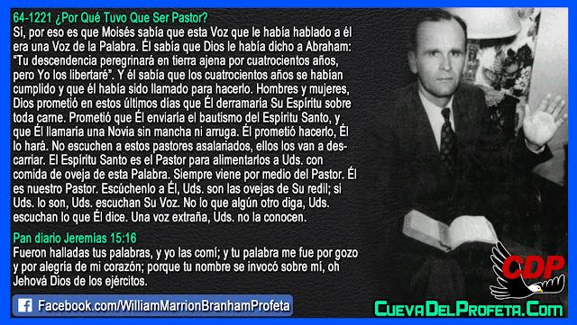 Una voz extraña que no debe ser escuchada - William Branham en Español