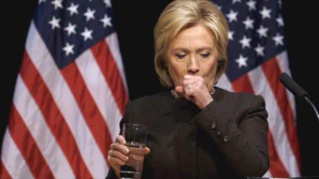 Clinton cancela su gira por California por una neumonía