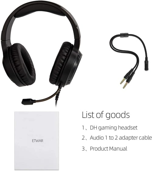 Review ETWAR Stereo Noise Cancelling Gaming Headset