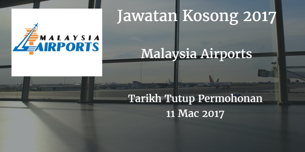 Jawatan Kosong MAHB 11 Mac 2017