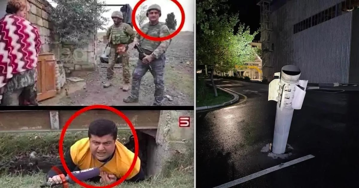 Azerbaijani Media Caught By Analysts Making Fake News About The Conflict In Artsakh Including Faking Rocket Attacks