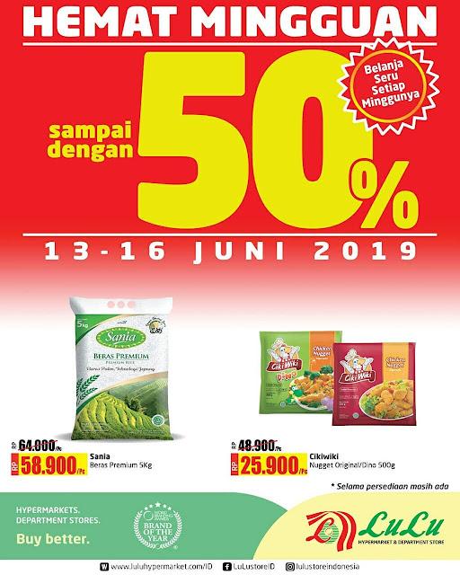 #LuluStore - #Promo #Katalog Hemat Mingguan Periode 13 - 16 Juni 2019