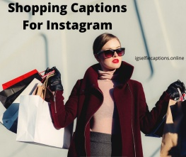 Shopping Captions For Instagram
