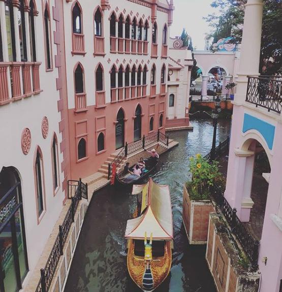 Rute dan Lokasi Little Venice Kota Bunga