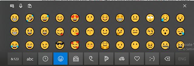 virtual keyboard emoji