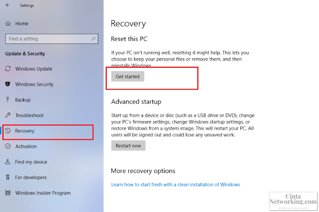 Cara Reset Windows 10 Di Laptop Dell Bagi Pemula - Cintanetworking.com