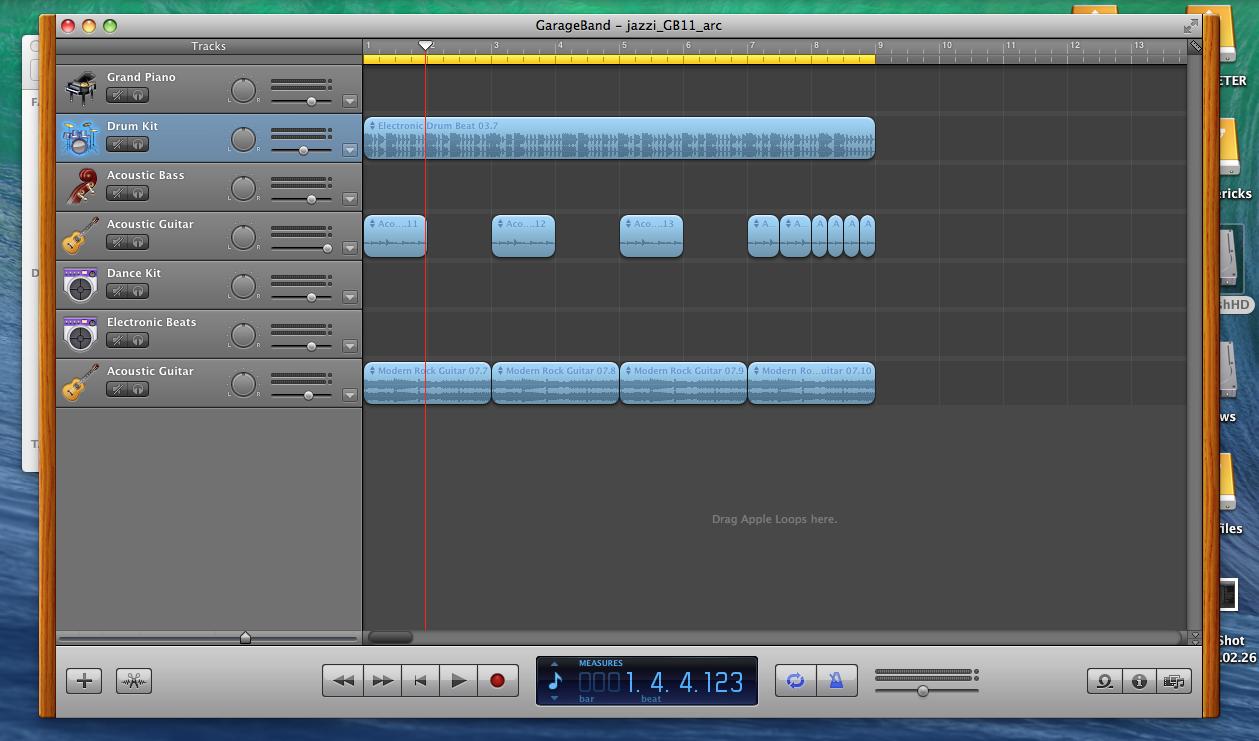 Fixed1t music software mac mavericks how to install and run garageband free and garageband 11 - Latest version of garage band ...
