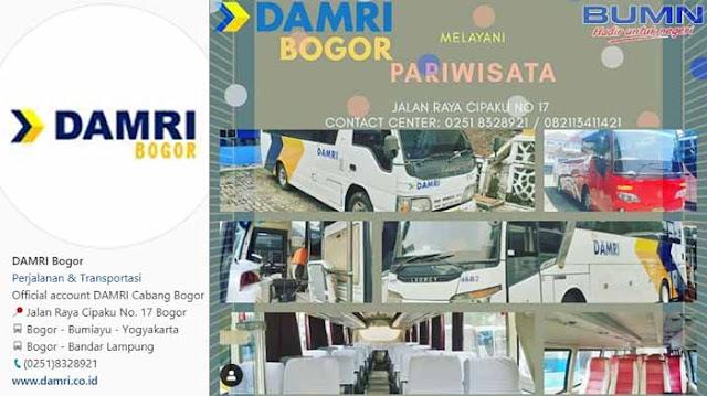 Damri Bogor Cilacap, Ini Harga Tiket & Jadwal Keberangkatannya