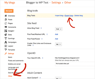 How I Clever Import And Export My Blog To Other Blogspot