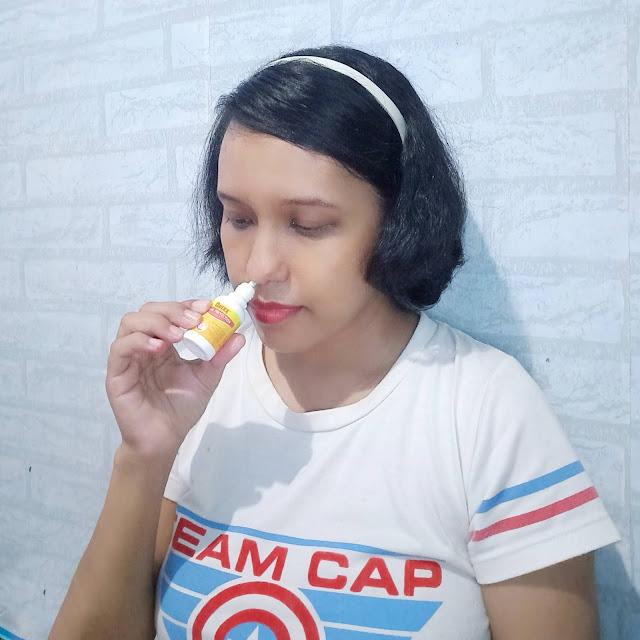 Spray nasal pembersih hidung