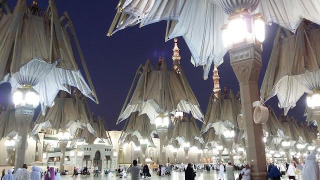 Masjidil Nabawi, Madinah, Madinah Bumi Bercahaya