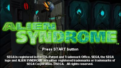 تحميل لعبة Alien Syndrome لأجهزة psp ومحاكي ppsspp