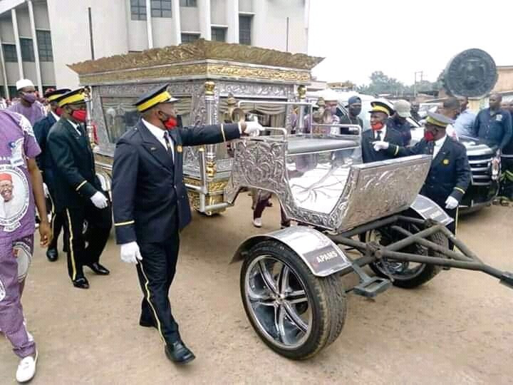 Check Out Incredible Photos From The Elaborate Funeral Of Late Chief Anthony, CEO Of Tonimas Oil And Gas #Arewapublisize