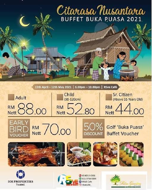 RAMADHAN BUFFET 2021 Citarasa Nusantara At Palm Garden Golf Club Putrajaya