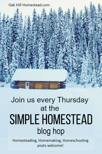Join us at the Simple Homestead blog hop.