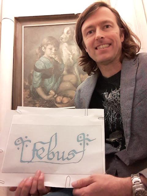 Emmanuel Larrouturou, présentant son déchiffrement de la signature de Gaston Fébus