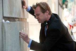 Christopher Nolan, director of The Dark Knight Rises (2012)