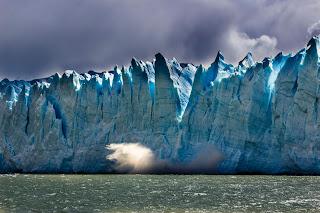 Glaciar Perito Moreno Parque Nacional de los Glaciares Calafate Derrumbamiento Ruptura