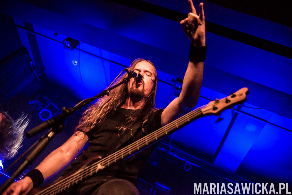 Insomnium Shadows of the Dying Sun Over Europe 2014 wrocław poland Niilo Sevänen