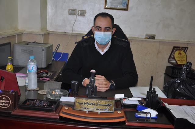 تعظيم سلام لضباط قسم مرور المحلة الكبرى