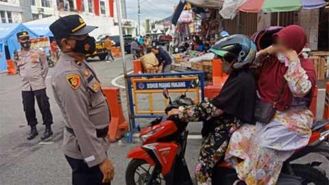 Operasi Yustisi di Kota Padang Panjang