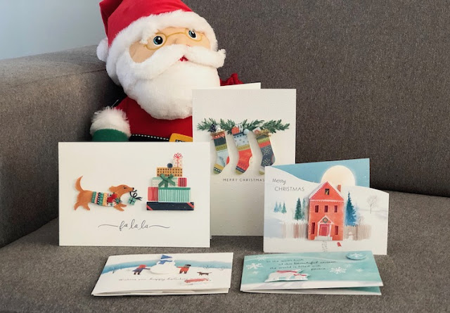 Hallmark Canada Interactive Santa Plush Paper Wonder Greeting Cards #LoveHallmarkCA