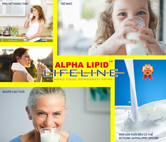 NGƯỜI NÀO NÊN SỬ DỤNG SẢN PHẨM SỮA NON ALPHA LIPID™ LIFELINE™?