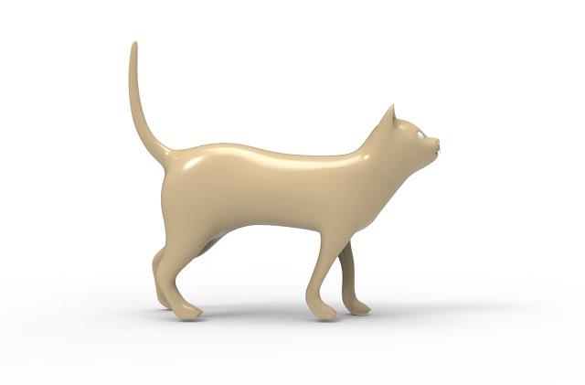 cat 3d model free download
