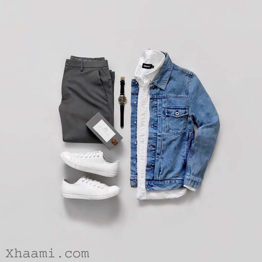 boys dressing tips with gray