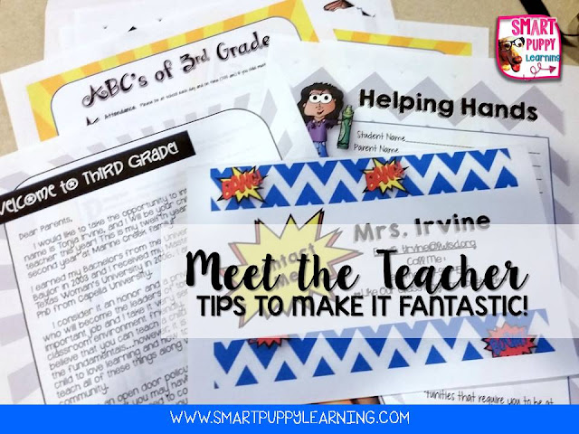 Ways to Make Meet the Teacher Awesome