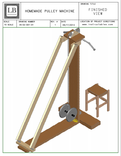 Homemade Pulley Exercise Equipment