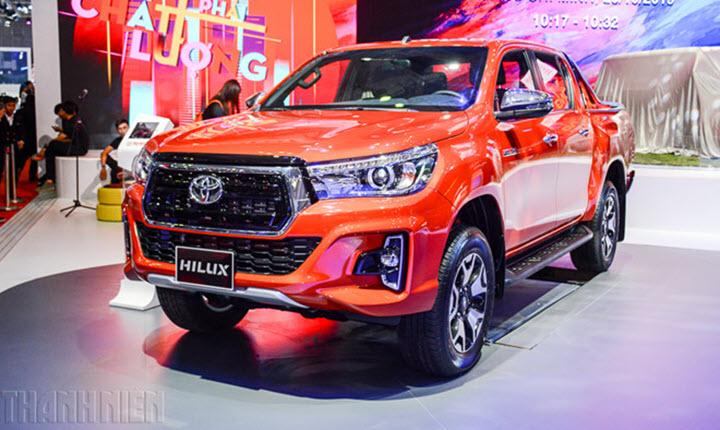 Phân khúc xe bán tải: Ford Ranger dẫn đầu, Mitsubishi Triton vượt Toyota Hilux