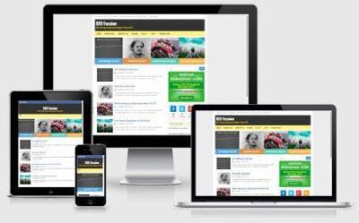 SEO Fussion Template Blogspot Terbaik CTR Tinggi untuk AdSense