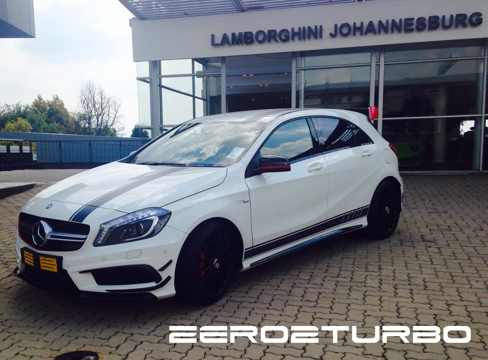 Driven: Mercedes-Benz A45 AMG Edition 1