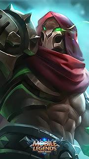 Aldous Red Mantle Heroes Fighter of Skins V1