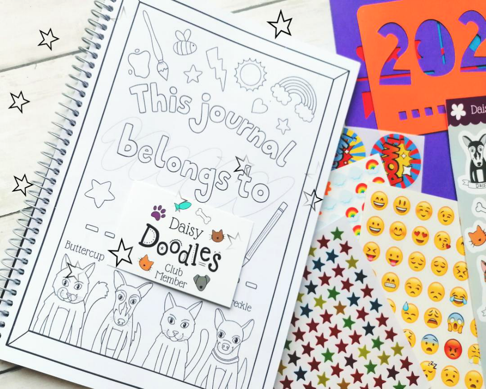 Daisy Doodles Club from Oops A Daisy