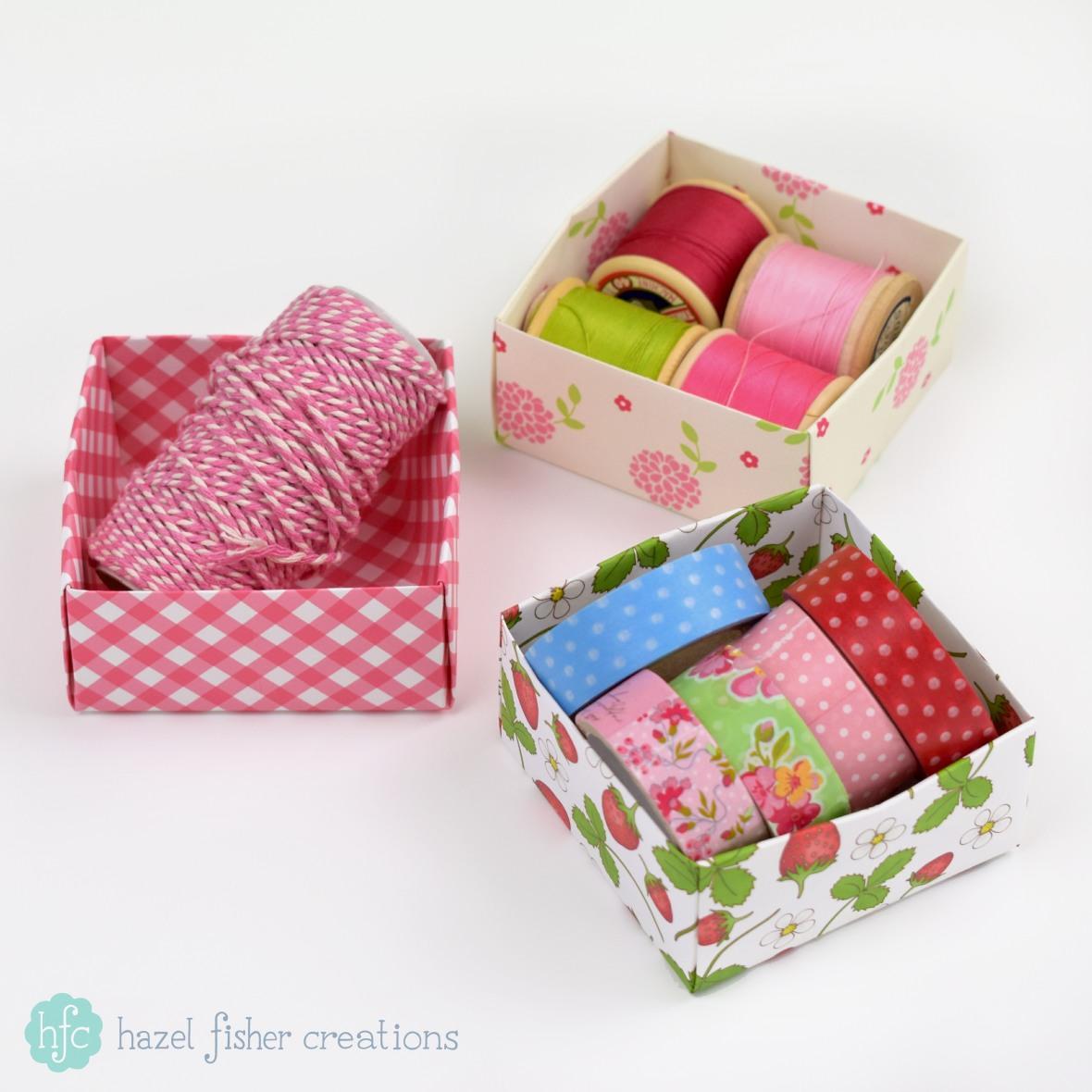 Hazel Fisher Creations: Origami Box Tutorial - photo#11