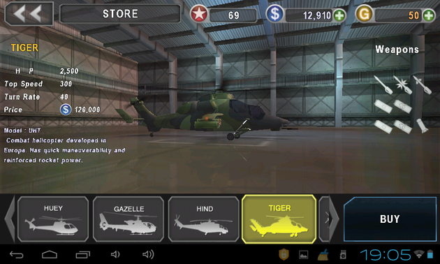 GUNSHIP BATTLE: Helicopter 3D v1.3.0 Full Apk Mod Unlimited Money Free Download
