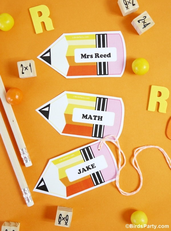 image regarding Name Tags Printable identified as Again toward Faculty No cost Printable and Editable Track record Tags - Celebration