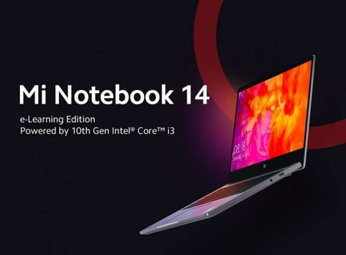 Xiaomi has released a version of Mi Notebook 14 for remote learning