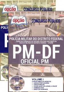 Apostila PMDF CFOPM - Curso de Formação de Oficiais PM do DF CFO 2017.
