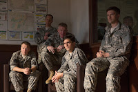 Anthony Michael Hall, Daniel Betts, Topher Grace, Anthony Hayes and John Magaro in War Machine (2017) (1)