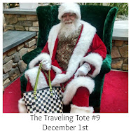 Look for Tales of the Traveling Tote #9 on December 1, 2016