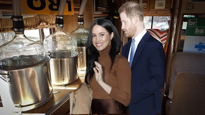 Meghan and Harry Meth Lab Picture