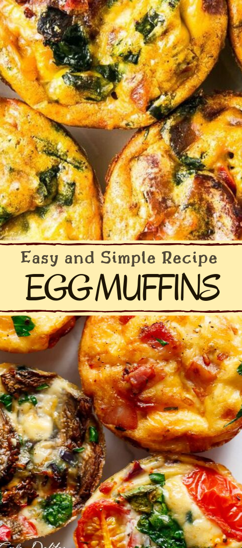 EGG MUFFINS #vegan #vegetarian #soup #breakfast #lunch