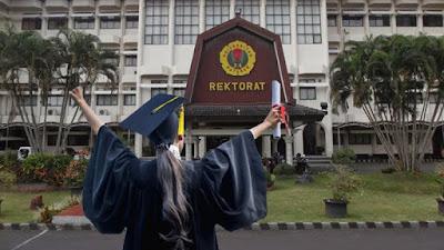 Minim Peminat, Universitas Mataram Tunda Wisuda Daring di Tengah Covid-19